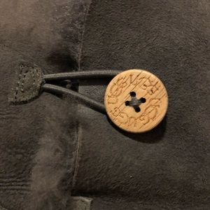 UGG Shoes - Ugg gray Bailey Button boots